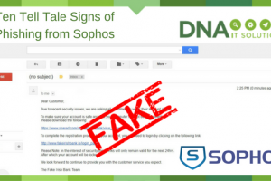 10 Tell Tale Signs of Phishing from Sophos