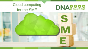Cloud computing for SME DNA IT