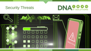 Web Security threats DNA IT