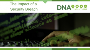 Impact of a security breach DNA IT Solutions