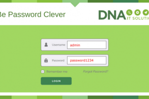 Be Password Clever