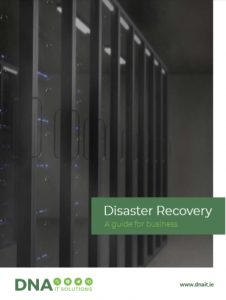 disaster recovery guide cover