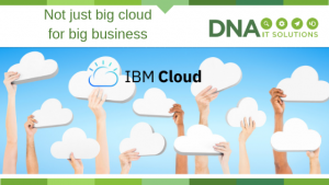 IBM Cloud Not just Big Cloud for Big Business DNA IT Solutions